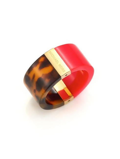 Item - Red-tortoise Colorblock Red-tortoiseshell Ring