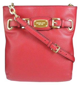 MICHAEL Michael Kors Crossbody Satchel in Red