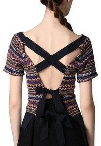 Marc by Marc Jacobs Knit Print Date Night Night Out Jacquard Sweater
