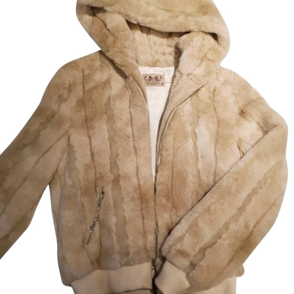 11cfdec2bc9b Juicy Couture Faux Hooded Coat Size 8 (M) - Tradesy