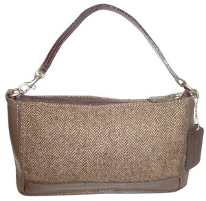 Coach Refurbished Wool Shoulder Bag