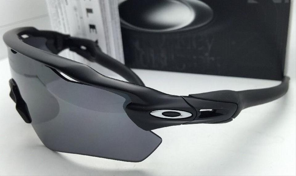 Oakley Radar Ev Pitch Oo9211-01 Matte Black Frame W/Black Iridium W/Black  Sunglasses