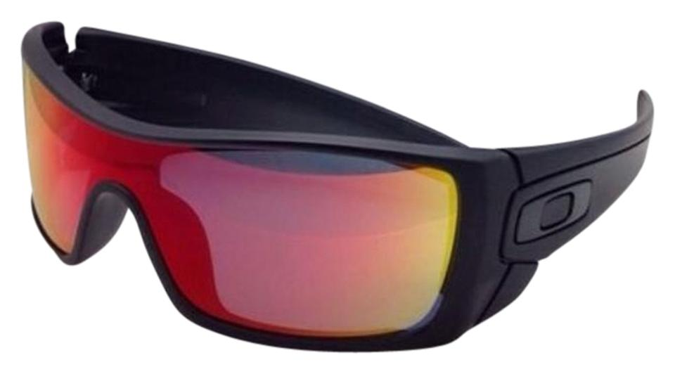 5848d82335 Oakley OAKLEY Sunglasses BATWOLF OO9101-38 Black Ink w  Ruby Iridium Image  0 ...