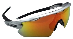 Oakley OAKLEY Sunglasses RADAR EV PATH OO9208-02 Silver-Black w/Fire Iridium