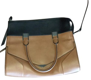 Pour La Victoire Satchel in Black And Brown