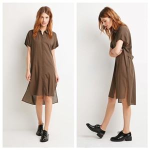Forever 21 short dress Olive, black on Tradesy