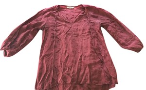 Tucker Top Burgundy