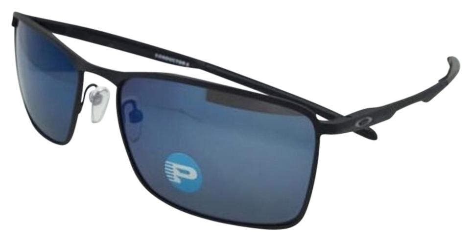 693e15a9664 Oakley Conductor 6 Oo4106-03 Matte Black W Ice Iridium Lens Polarized W