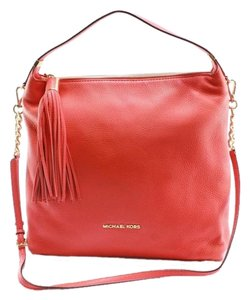 MICHAEL Michael Kors Weston Large Satchel in Mandarin