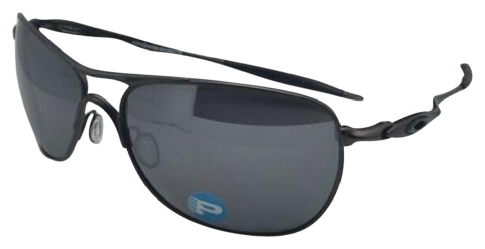c72e217392a Oakley Polarized OAKLEY Sunglasses Ti CROSSHAIR OO6014-02 Pewter w  Iridium  Image 0 ...