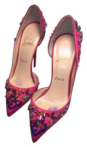 Christian Louboutin Pink multi Pumps