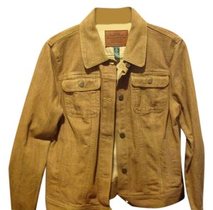 Ralph Lauren Heavy Weight New With Tags In Color Brown Womens Jean Jacket