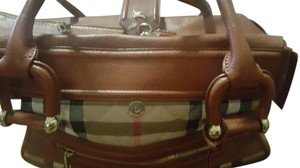 Burberry large Satchel in brown