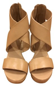 Diane von Furstenberg Dvf Wedge New Opal Nude/Tan Wedges