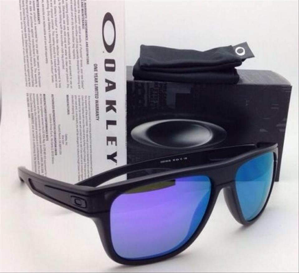 636dc34b90 Oakley Breadbox Oo9199-02 Matte Black Ink W Violet Iridium Lenses W   Sunglasses