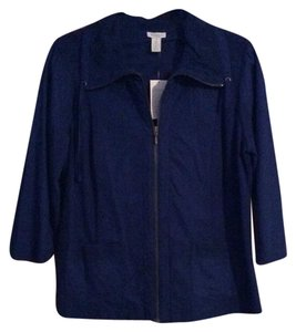 Chico's Royal (Stratus) Blue Jacket
