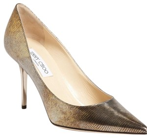 Jimmy Choo Metallic (antique) Pumps