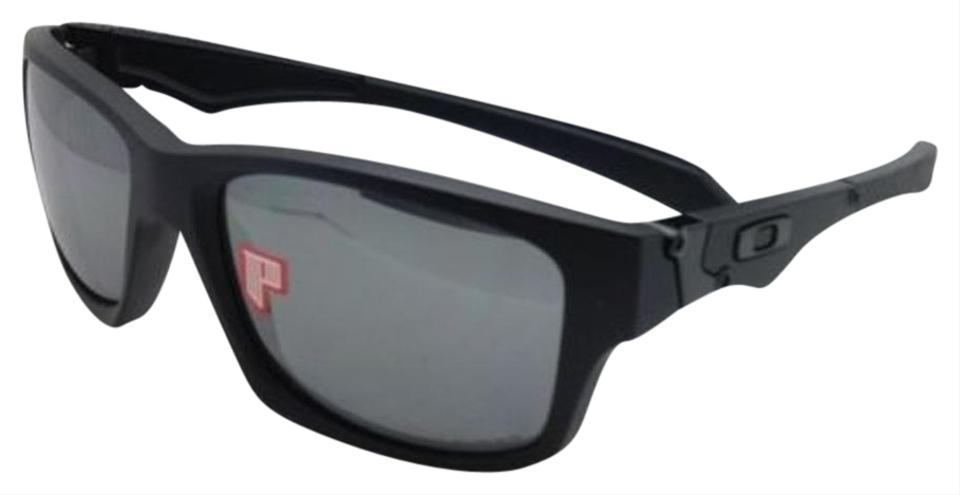 d43bf37110 Oakley Polarized Oakley Sunglasses JUPITER SQUARED OO9135-09 Black w Iridium  Image 0 ...