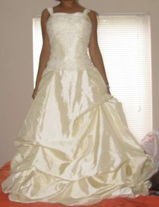This Is A Custom Hand Made Gown! Wedding Dress