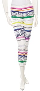 Camilla and Marc Skinny Pants White and multicolor
