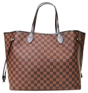 Louis Vuitton Lv Damier Gm Tote in brown
