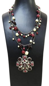 Chanel Chanel Beaded CC Necklace
