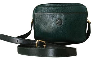 Mark Cross Cross Leather Classic Shoulder Bag