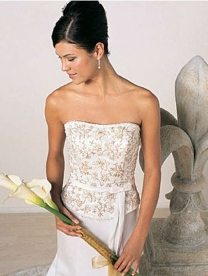 Alfred Angelo White 1206 Formal Wedding Dress Size 16 (XL, Plus 0x)