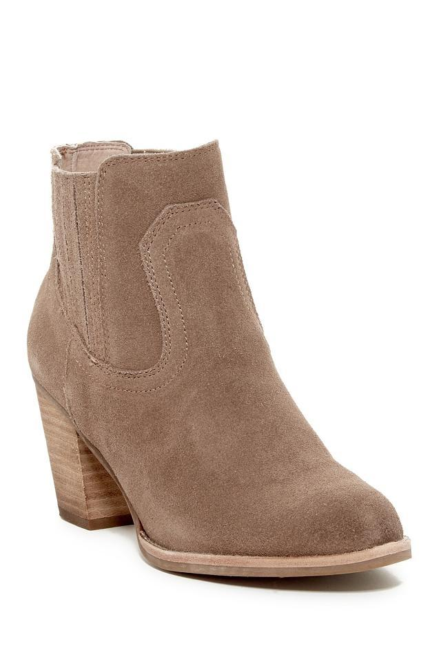 Dolce Vita Ankle Dark Taupe Suede Western Ankle Vita Boots/Booties bde29b