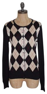 Ann Taylor Plaid Cardigan