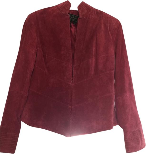 Preload https://item3.tradesy.com/images/terry-lewis-classic-luxuries-reddish-leather-jacket-1947132-0-0.jpg?width=400&height=650