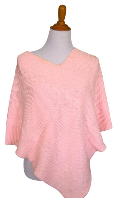 Preload https://item2.tradesy.com/images/pink-poncho-sweaterpullover-size-8-m-19471416-0-1.jpg?width=400&height=650