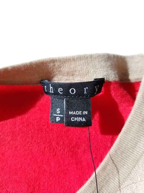 Theory Color-blocking Wool Sweater