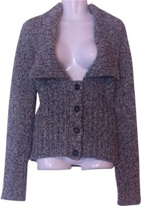 Max Mara Weekend Virgin Wool Lapel Collar Sweater