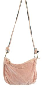 Marc Jacobs Boho Bohemian Hipster Velvet Cross Body Bag