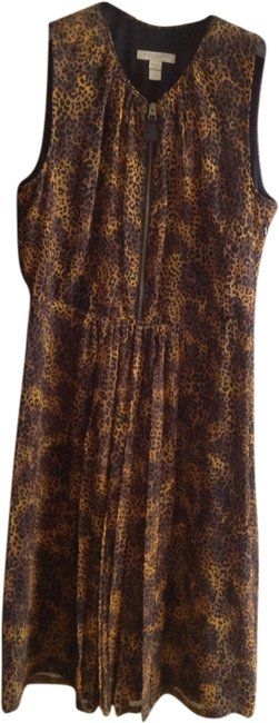Burberry short dress Brown on Tradesy