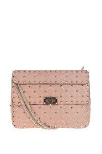 Valentino Valentinio Leather Shoulder Bag