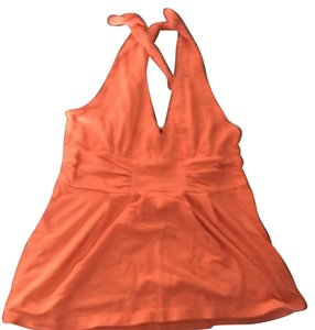 Victoria's Secret Halter Party Cotton Sexy Top Coral