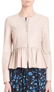 Rebecca Taylor Pale Blush Leather Jacket