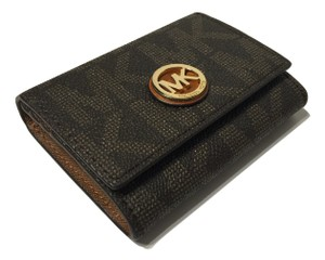 Michael Kors Michael Kors Fulton Snap Credit Card Case Holder