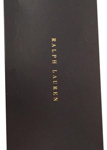Ralph Lauren Black Label Black and gold Boots