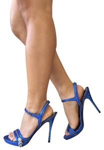 Alexander McQueen Blue Sandals