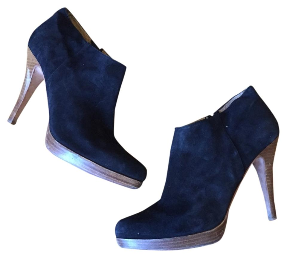 97a772fbee4 Steven by Steve Madden Black Suede Ankle Boots Booties Size US 11 ...
