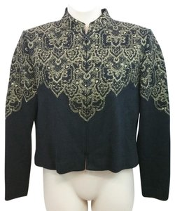 St. John Evening Black Knit Blazer