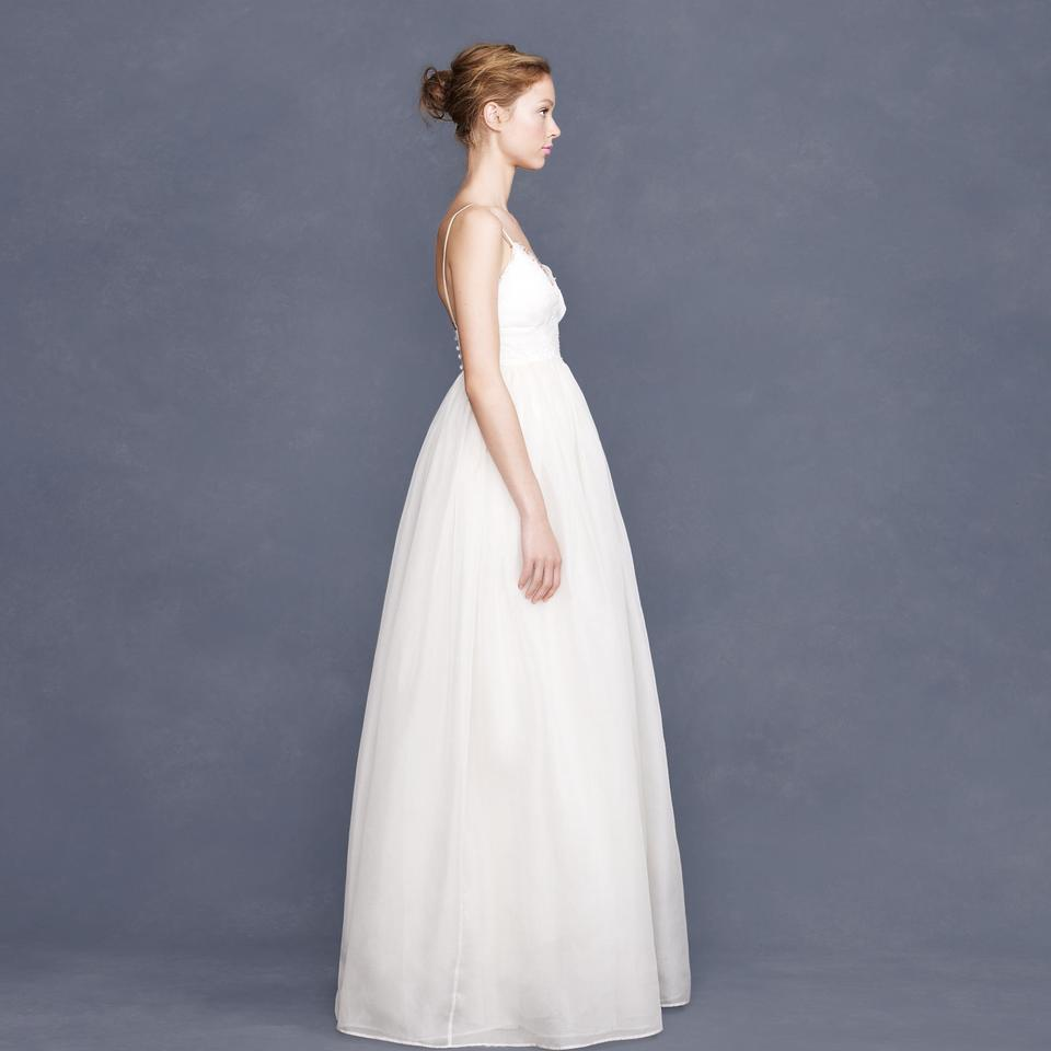 J.Crew Ivory Organza Principessa Gown In Lace And Feminine Wedding ...
