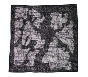 Bottega Veneta Bottega Veneta Printed Silk and Lace Scarf