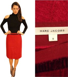 Marc Jacobs Wool Skirt pink