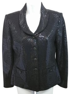 St. John Couture Black Knit Jacket