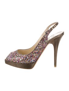 Jimmy Choo Clue Multicolor Pumps