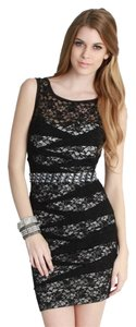 Nikibiki Lace Pintuck Jewel Bead Dress